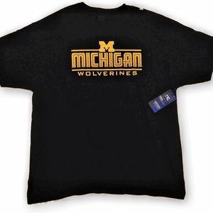 Michigan Wolverines Fan Tee Shirt by Pro Edge
